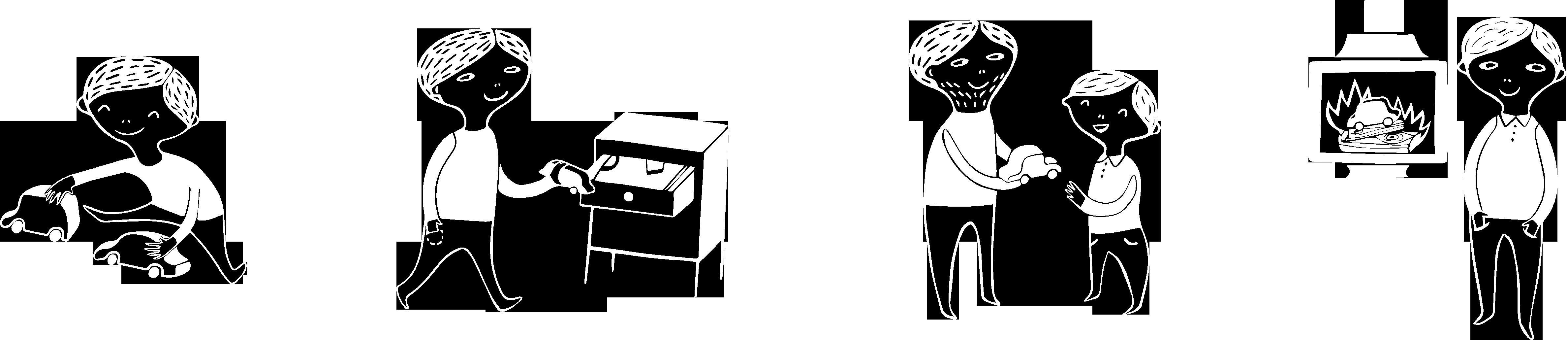 illustrazioni grandi bianche orizz