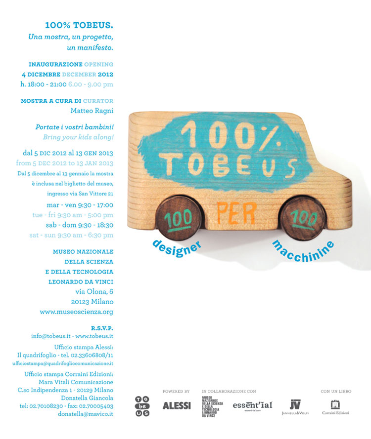 100% TobeUs  – Invito mostra MUST