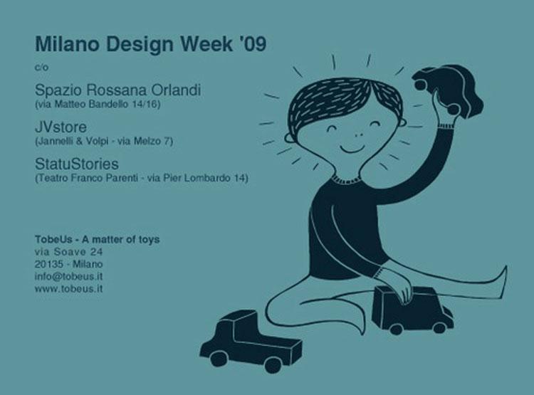 29 Giugno 2009 – TobeUs Milano design week 2009