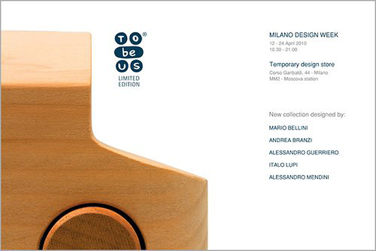 14 Aprile 2010 – TobeUs limited edition