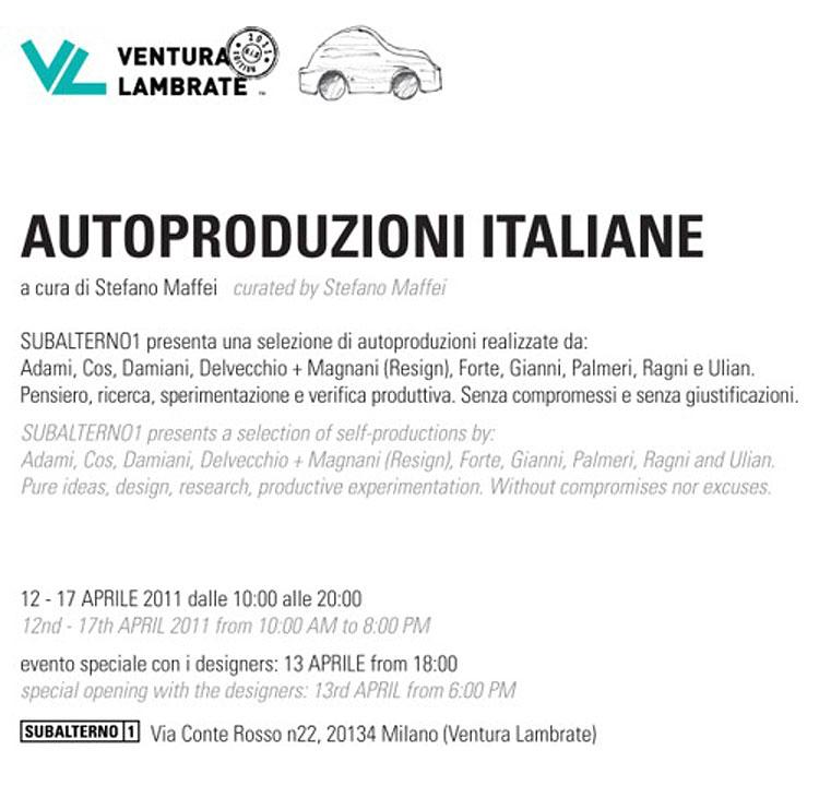 Autoproduzioni Italiane