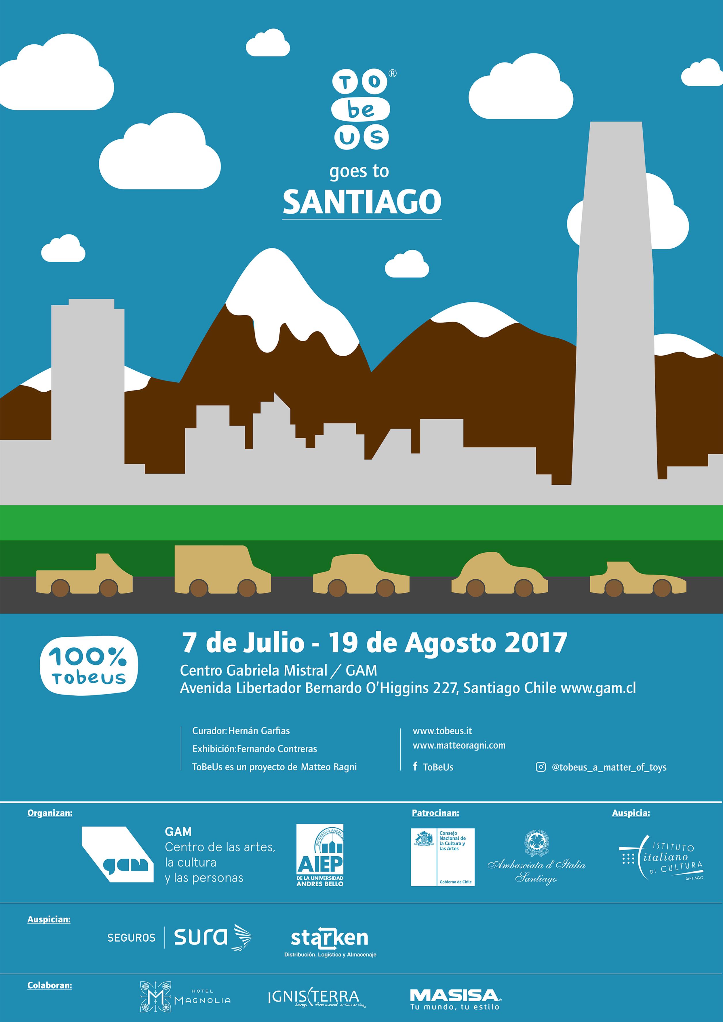 Poster Chile TobeUs